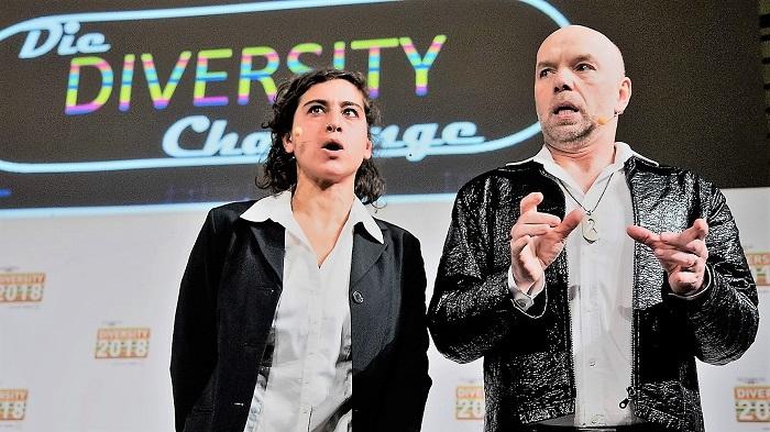 11.11.2019: DIVERSITY-Show auf MINT Tagung in Berlin